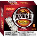Kills the ants you see and the ants you don t. For use in and around homes. No drips, spills or mess.