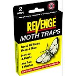 This powerful trap attracts and captures pantry pests (Indian meal moth, Mediterranean flour moth, almond moth and raisin moth). These moths are found in flour, rice, crackers, dog food, bird seed and cereals.
