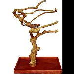 The space between the naturally designed branches help provide freedom for your bird to flap their wings Tree provides room for your bird to explore Base is constructed with quality kamper wood from kalimantan