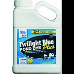 One gallon will treat up to one surface acre 4 to 6 feet deep Blend of twilight blue pond dye and pondclear beneficial bacteria Formulated to provide ponds with a blackish-blue appearance Promotes a clean and healthy ecosystem Safe for recreational ponds,