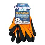 Best used for: carpentry, oily surfaces, tool handling, concrete mechanics. Features double coated textured nitrile palms and tough 13 gauge nylon knit.