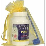 New and improved special enhanced anti-tear stain formula without antibiotics Formulated for both cats and dogs for unsightly tear stains from the inside out May also be used for the staining around the mouth and coats due to licking No food dyes, wheat,