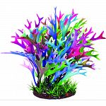 If your tank lacks color, this 9 inch plastic aquarium plant decoration will do the trick! With no maintenance required, just place in the right spot and watch your creatures enjoy their new decor. Aquatop plants are durable and to replicate the natural e
