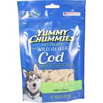 Soft and chewy dog treats rich in omega 3 fatty acids for healthy skin, coat, and heart Made with natural flavors and colors Corn and soy free Made in the usa