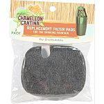 Replaceable activated carbon pads for the chameleon cantina drinking fountain Keeps water fresh, filtered, and purified