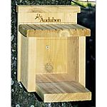 The Audubon Squirrel Munch Box Feeder is great entertainment for squirrels and people alike. Fill with a squirrel or wildlife mix, and watch the squirrels lift the lid to dig out treats. Mounts on a post, tree or deck.