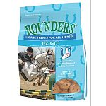 Rounders® EZ-GO™ Horse Treats are formulated with marine source glucosamine and chondroitin sulfate. Feeding 5 Rounders® EZ-GO™ Horse Treats provides 3,600 mg of glucosamine sulfate and 1,200 mg of chondroitin sulfate. 30 oz.