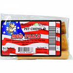 Chewy and crunchy treat Good for any age dog Promotes clean teeth and gums For small to medium dogs Made in the usa