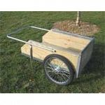 Features a heavy duty removable front gate, 20 in wheels, and a precision placed axle for balanced load and easy pushing Resistant to rain, manure, urine and age May be used for nursery trees, feed bags, hay bales, manure, mulch, barbed wire fencing, leaf