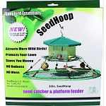 Adapts to fit virtually any bird feeder! Attracts more wild birds! No more mess - easy to clean No rodents