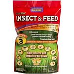 With befenthrin insect control. Kills fast. Portects lawn from insect damage. 12-0-10 formula.