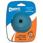 Made from natural rubber. Easy to clean. Twitters and whistles in flight. These dog whistle balls are compatible with the Chuckit ball launcher.