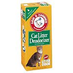 If you're like most cat lovers, one of your least favorite activities related to your feline is dealing with litter box odor. For years many people have used ARM & HAMMER® Baking Soda, the world's most proven deodorizer, in their litter box to