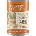 Grain-free healthy chicken and liver dinner Holistic and ultra-premium For dogs of all sizes, life stages, and breeds Made in the usa