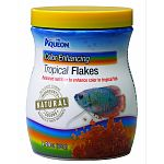 Provides all the nutritional essentials for a wide array of tropical fish. These diets are nutritional building blocks that provide a healhy daily diet and bring out the natural colors of fish.