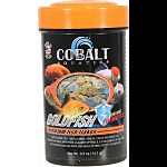 Formulated for specific diet requirements of all goldfish Nutritionally balanced for beautiful color, consistent growth and palatability Enhanced with probiotics and cobalt blue flake s triple vitamin dose and immunostimulants Will not cloud water.