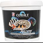 Cobalt shrimp pellets are a economical supplemental sinking food These sinking pellets are ideal for medium and large tropical fish and bottom feeders Will not cloud water.