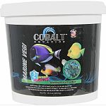 A complete formula for all marine herbivorous fish Highly palatable formula helps finicky marine fish to eat prepared foods. Loaded with spirulina, kelp, plankton and squid for consistent growth and superior color. Triple concentration of vitamins that he