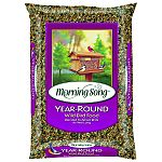 Blended to attract the beauty of backyard birds year round Attracts a variety of birds characterized by different colors, shapes, sizes and songs Supplies critical energy in winter and a healthy food sourcein spring and early summer