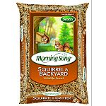 Helps satisfy the appetite of squirrels and other backyard wildlife Creates diversion to reduce the competition at wild bird feeders Contains corn, black oil sunflower seeds and peanuts