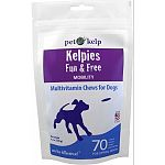 Multivitamin chews for dogs Combines the nutritional benefits of our pet kelp blend with vet-recommended mobility support. Corn and wheat free Made in the usa