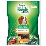 Natural, wholesome ingredients, including omega 3 and 6 for skin and coat. Functional jinsei green tea extract. Supports overall pet wellness.