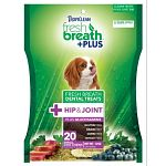 Natural, wholesome ingredients, including glucosamine for hip and joint. Functional jinsei green tea extract. Supports overall pet wellness.