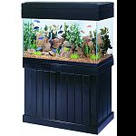 Constructed entirely of solid wood. Each stand and canopy is stained and finished with a waterproofing sealer that will protect them from splashes and water. Fits tank: 30br, 40br, 50 and 65 gallons. Canopies are available with full length doors that allo