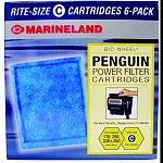 Each preassembled rite-size and emperor cartridge has a patented ribbed back that evenly distributes carbon for maximum water Highest grade magnum carbon removes more pollutants Fits penguin 170, 200, 330, & 350