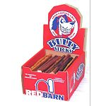 Treat your dog to a tasty Steer Stick by Redbarn. These treats are made of natural steer muscles that are smoked and roasted. Very tasty and will become chewy when wet. Great for cleaning teeth and entertaining your pet.
