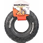 Made real-tire-tough with specially formulated natural rubber with two-ply nylon Interactive dog toy is perfect for playtime tossing, sugging and moderate chewing Durable pet toy that dogs of all ages enjoy Can also be very effective training tools for