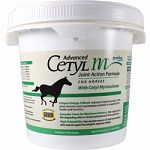 Equine supplement for support of joint health and function Contains 100% plant-derived cetyl myristoleate Granular form for maximum potency High palatability with apple flavoring for superior intake