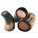 Natural horn filled with tasty peanut butter filling that dogs cant resist Promotes dental health