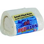 Made with real greek yogurt, this 3.5 ounce bone is 2.5 x 2 x 2 inches. Combines white, cut femur bones with a wholesome, greek yogurt filling. Couples the teeth cleaning advantages of the hard bone filled with the delicious taste of the stuffing. Comes s