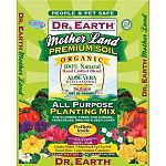 All-purpose planting mix for flowers, trees and shrubs, vegetables, ground and seed cover. Contains aloe vera and yucca extract. Beneficial soil microbes plus mycorrhizae are part of the probiotic inside. Ideal for garden mulch, helps break up clay soil,
