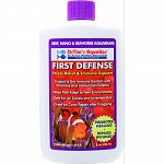 Stress relief and immune support solution that treats 480 gallons For reef, nano, and seahorse aquariums Supports the immune system with vitamins and immunostimulants Helps fish adapt to new environments, promotes healing, and repairs wounds Safe for all
