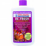 Sparkling reef water solution that treats 480 gallons For reef, nano, and seahorse aquariums Revitalizes old, smelly brown water Protein skimmer friendly formula that keeps water odor-free 100% natural and reduces organics Made in the usa