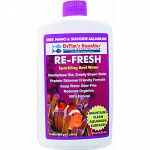 Sparkling reef water solution that treats 960 gallons For reef, nano, and seahorse aquariums Revitalizes old, smelly brown water Protein skimmer friendly formula that keeps water odor-free 100% natural and reduces organics Made in the usa