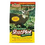ShotPlot Forage Attractant is a premium mixture of Forage Brassicas. It was developed in New Zealand to produce bigger & healthier deer. These plants are among the most palatable & nutritious annual forage that can be planted for deer.
