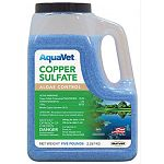 Keep algae at bay the easy way with Durvet Aquavet's new copper sulfate algae control - 5 lbs.