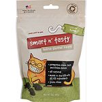 Delectable dental delights for your feline friend All natural treats Helps reduce plaque and tartar build-up Less than 2 calories per treat Gluten and grain free Made in the usa