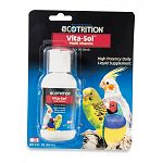 Regular use of Ultra vite vita-sol for birds will result in a healthier, more energetic, more disease resistant bird.