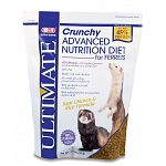 Ultimate Advance Nutrition Crunchy Diet for Ferrets contains high amounts of protein and is low in fiber. This scientifically formulated diet helps to ensure balanced nutrition that is vital for your ferret's specific dietary needs. Made with chicken.