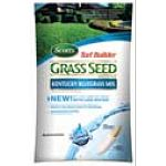 Scotts Turf Builder Kentucky Bluegrass Mix Grass Seed offers you a high quality seed that is known for a rich emerald green color with a soft texture. Made to quickly spread over your lawn to repair bare or thin areas. Great for colder climates.
