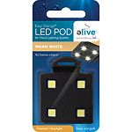 Can quickly and easily be added and removed from led aquarium track lights You can increase brightness in your aquarium by adding additional led pods. Customize the light color by combining different types of led pods