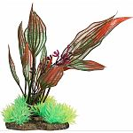 Natural elements plants were designed to make your aquarium look stunning and keept your fish happy and healthy Creates a more natural look in your aquarium Features a weighted resin base that makes it easy to anchor plants in your gravel Decorating your