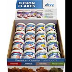 Fusion premium flakes were developed as a natural premium diet with limited ingredients Focused on providing your fish with premium proteins and the necessary essentials Five times thicker than standard flake foods