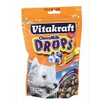 Vitakraft Drops are a highly nutritious, enriched treat certain to please your dog. Use these Drops as a wholesome between-meal snack, or any time your pet deserves a special reward. Vitakraft Drops contain valuable minerals and vitamins.