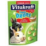 Yogurt Drops for rabbits are the popular tidbit containing yogurt, natural whey protein, essential lecithin and no artificial colorings. A perfect treat for your pet rabbit or bunny. 5.3 oz.