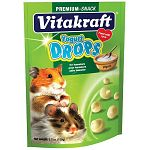 Yogurt Drops are a popular tidbit for pet hamsters that contain yogurt, natural whey protein, essential lecithin and no artificial colorings. Hamsters will go wild for these nutritious treats.